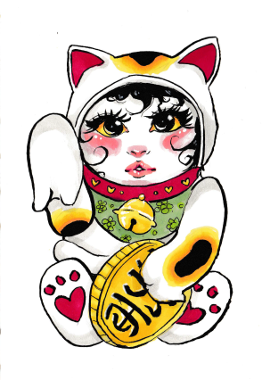 -SCAN lucky cat